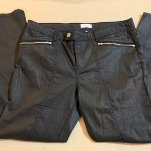 Size 14 Calvin Klein Skinny Coated Jeans Pants